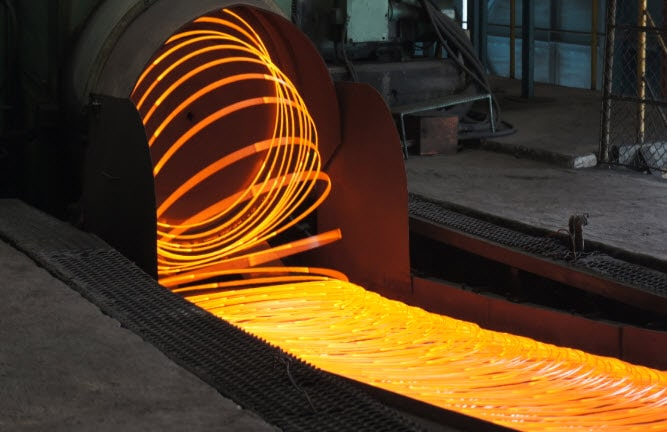 dây truyền sản xuất thép cuộn