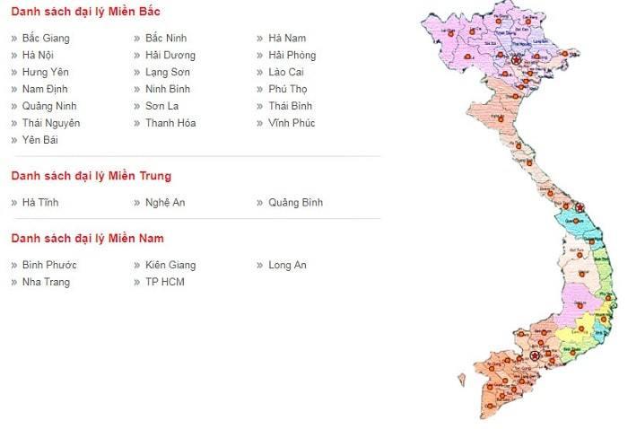 hệ thống đại lý thép Việt Ý