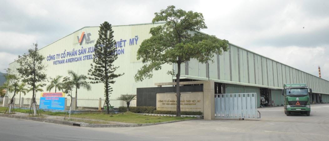 nhà máy thép việt mỹ